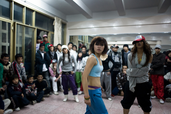 Mai at a Hip Hop War, Jamie Maxtone-Graham 2007