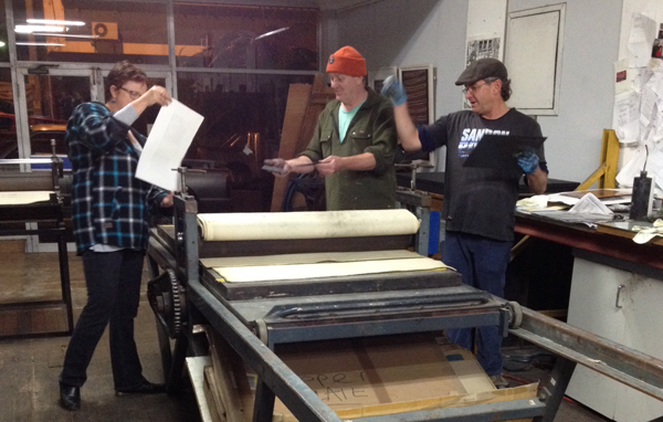 Great experience! Thank you Tom Goulder (Master Printer) and http://www.duckprintfineart.com.au/about/ Duck Print courses!